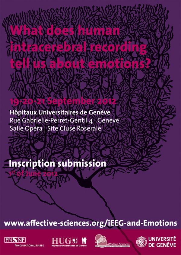 iEEG et émotions : l'INCR à Genève