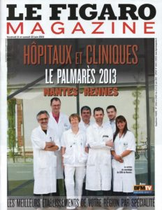 Hôpitaux et Cliniques, le palmarès 2013