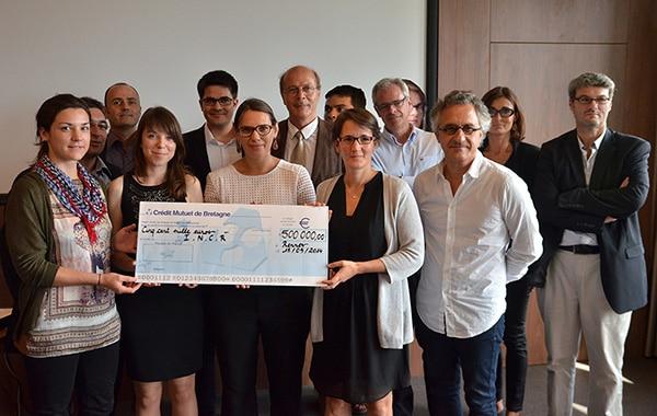 un don de 500 000 € pour l'INCR