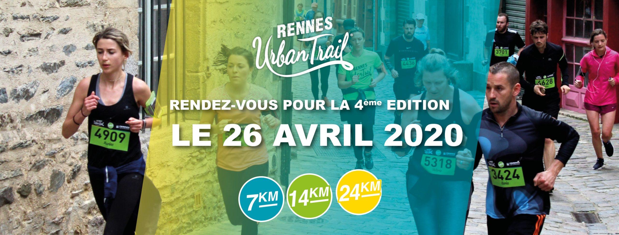 rennes urban trail affiche