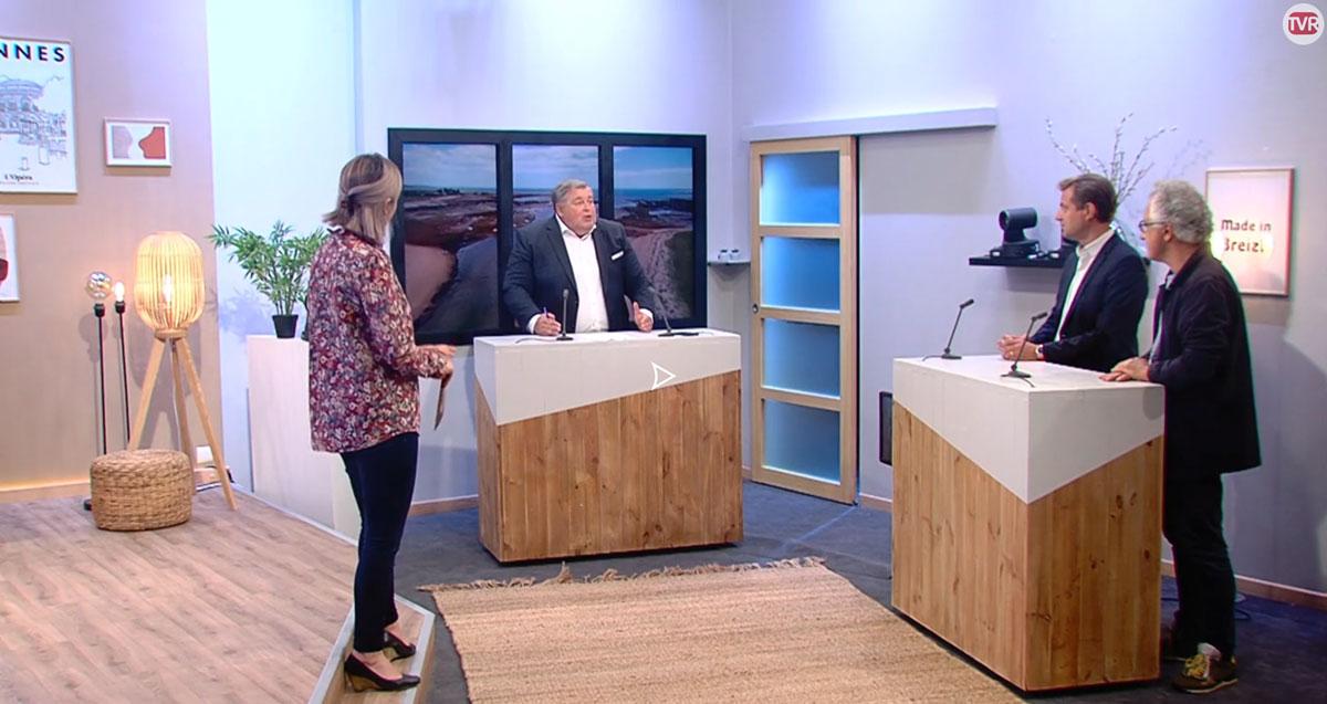 Jean-Baptiste-Gouin,-president-de-BAA-et-le-Pr-Marc-Verin-president-de-l'INCR-sur-le-plateau-de-TV-Rennes